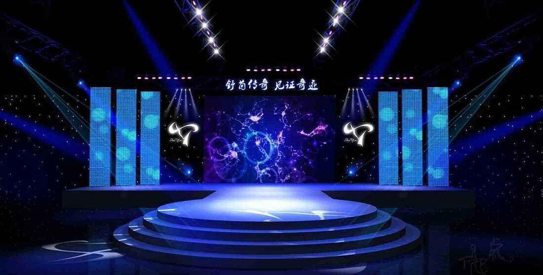 舞台租赁LED显示屏解决方案特点